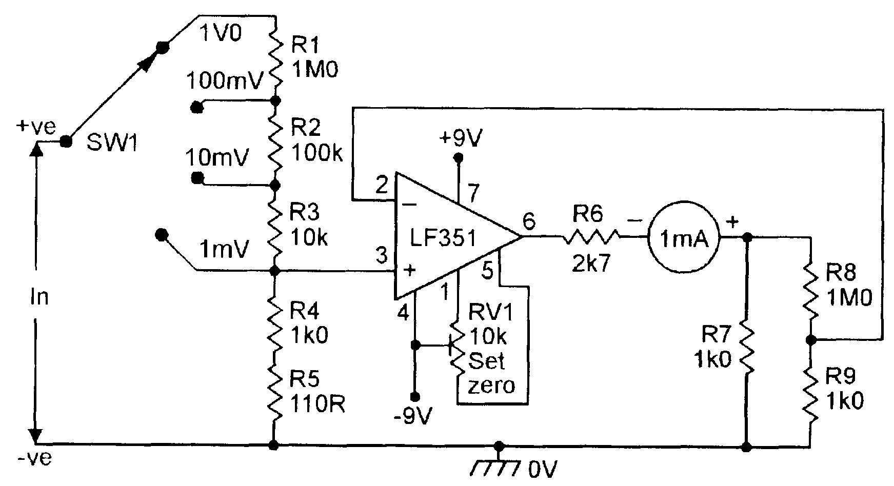 Electrical Gurus Needed Measuring The Millivolt With High Accuracy