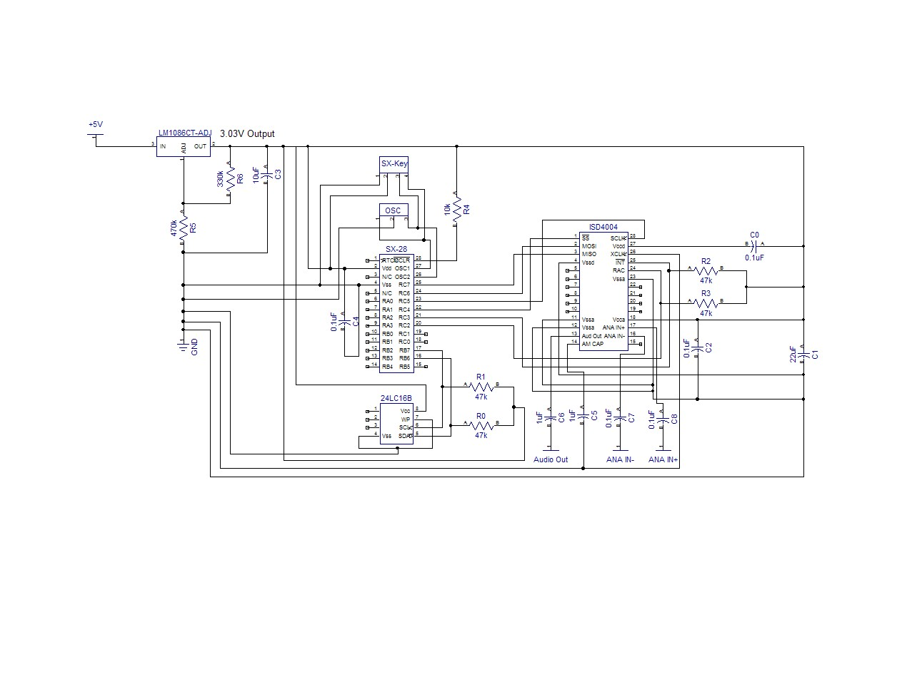 Isd Sound Chip Controller