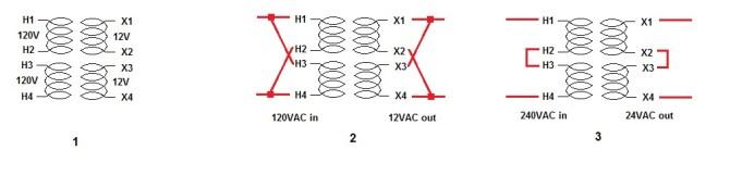 wiring a 240v transformer  schematic wiring diagram load