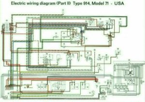 914 Color Coded Electrical Wiring Diagrams 19701973
