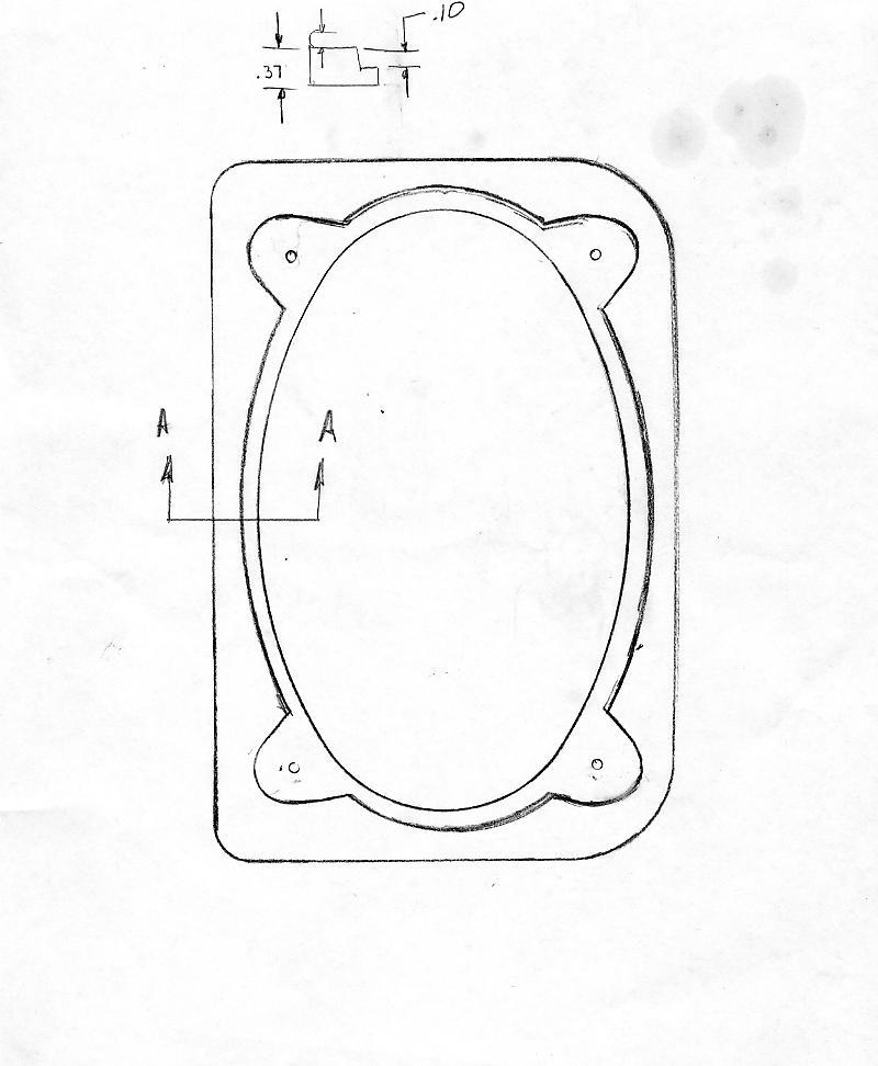 Poineer 6x9 Speaker Cut Out Template Online Metcalegwelchgq
