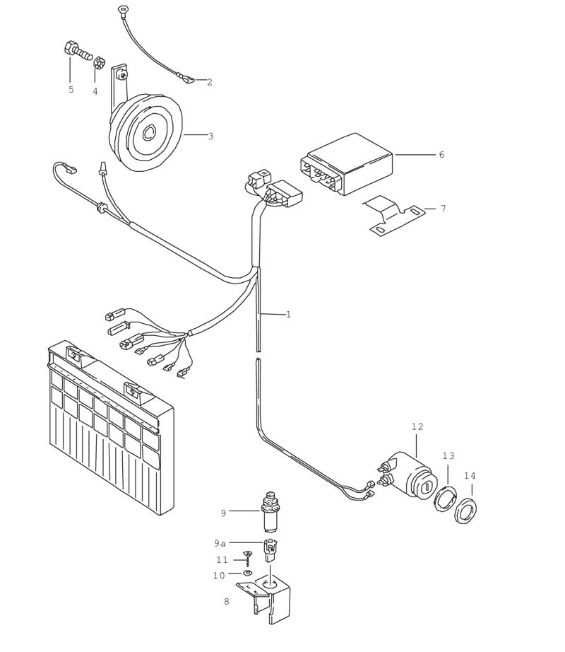 Diagram 1987 Porsche 944 Wiring Diagram