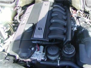 Bmw engine bay ponents