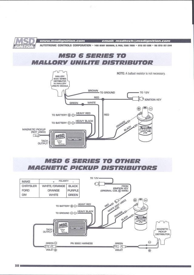 msd 8352 wiring diagram   23 wiring diagram images