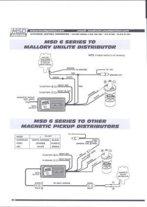 MSD 6AL How to wire  Pelican Parts Forums
