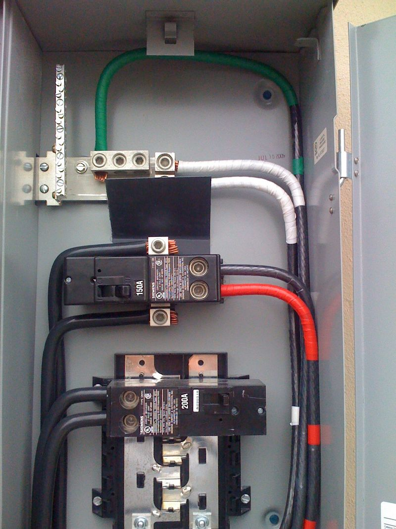 200 Amp Disconnect Box Wiring Diagram For Meter Amps Main