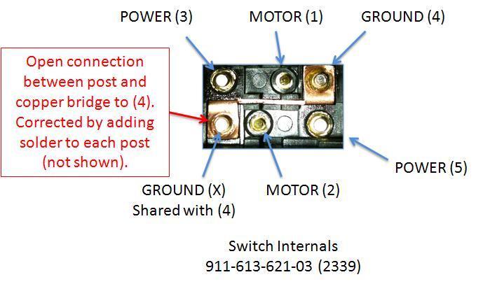 Window Wiring Power 5 Diagram Pin
