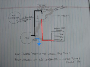 Condenser Fan Relay wiring  Pelican Parts Forums