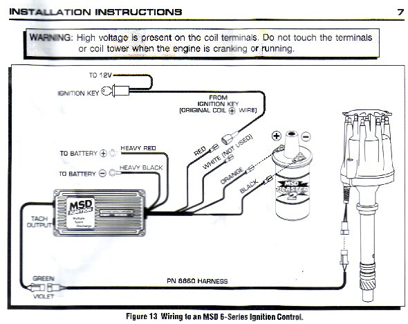 Wiring Diagram 6al 2 Msd