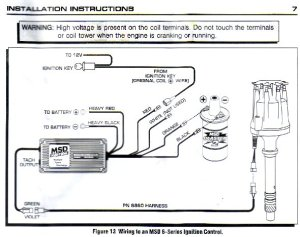 Distributor question And msd  Pelican Parts Forums