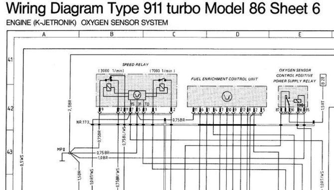 diagram vw starter relay location 1987 porsche 911 wiring