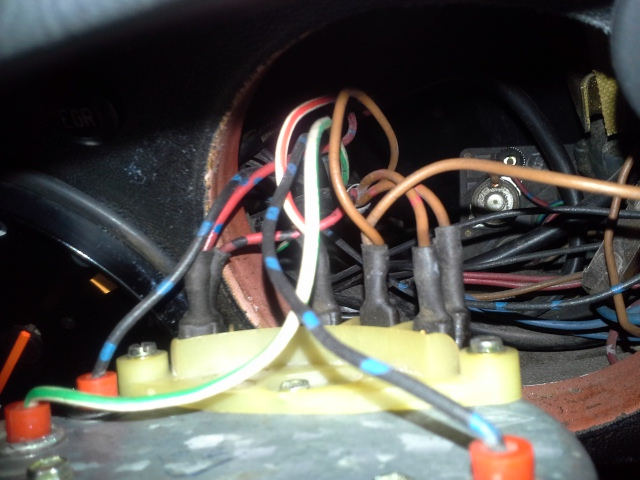 Speedometer Wiring Connections