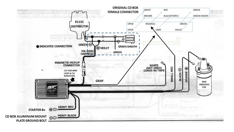 Wiring diagram msd starter saver powerking