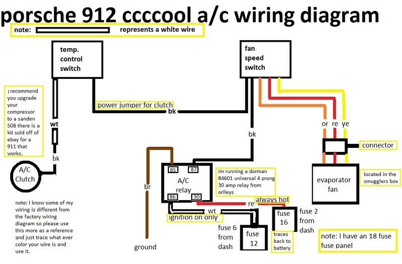912e Need Air Conditioning A C Wiring Help