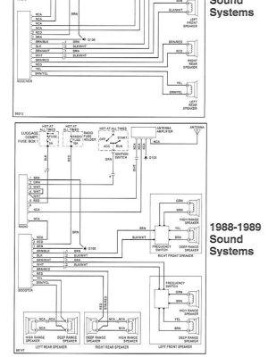 Radio Wiring Diagram or Chart?  1989 32L Targa  Pelican Parts Forums