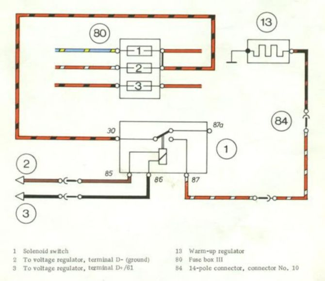 electrical wiring diagram 911t 1973 cis  pelican parts forums