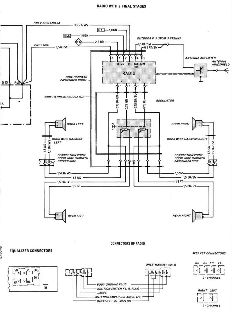 porsche 944 wiring diagram radio wire data u2022 rh engineeringblogs co porsche 944 stereo wiring 1983 porsche 944 radio wiring diagram