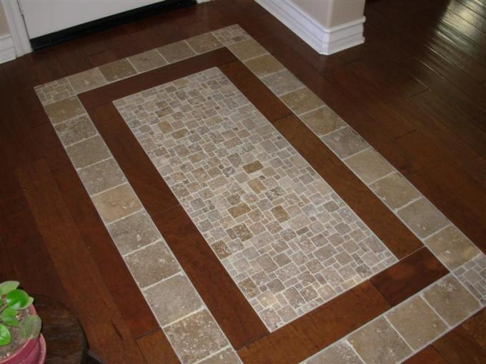 Wood Floor With Tile Inlay Fixer Upper Wikizie