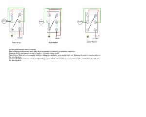 Power Window Switch schematic  Pelican Parts Forums
