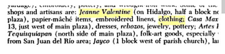 Info On Designer A Jeanne Valentine French Original