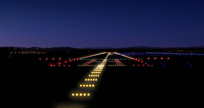 Runway Lights At Night Photos | Adiklight co