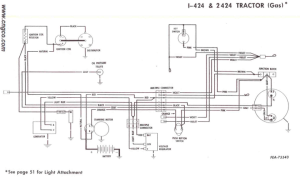 Need Wiring DiagramHelp on 424Gas  Farmall