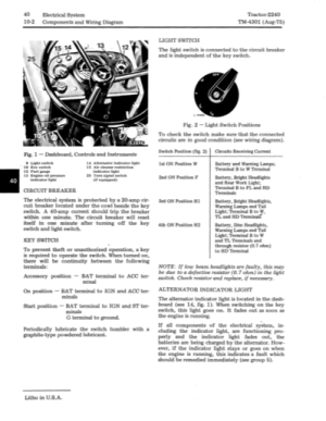 2240 Electrical Question  John Deere Forum  Yesterday's Tractors