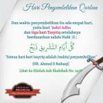 Hari Penyembelihan Qurban