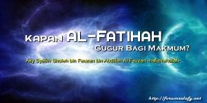 Kapan Al-Fatihah Gugur Bagi Makmum