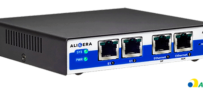 Gateway E1 SIP Aligera com 3CX – Interface Gráfica