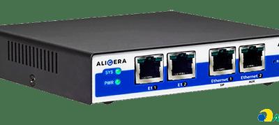 Gateway E1 SIP Aligera com 3CX – Interface Gráfica