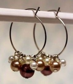Pearl Earrings Jewelry