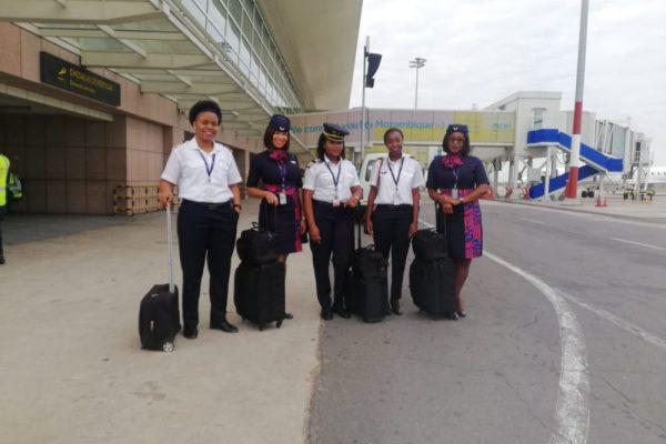 Mulheres lideram uma tripulação pela primeira vez em Moçambique