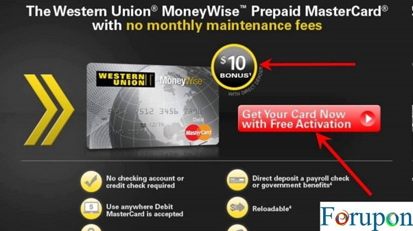 Western Union NetSpend Prepaid MasterCard Review - For Upon