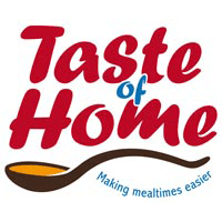 Branding and website of taste-of-home done by forward-designs.co.uk