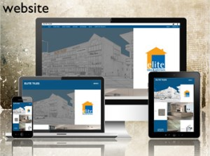 Elite Tiles - one of the wordpress websites by Forward Designs