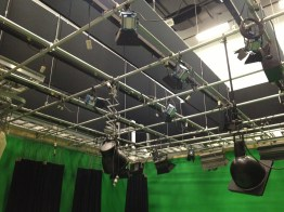 TV sound stage