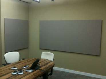 Tackboard in Meeting Room