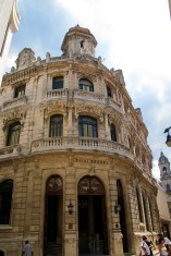 Built in 1908, the Hotel Raquel is an elegant Art Nouveau building located in Old Havana. The façade of the building expresses a Baroque spirit imbued with organic, fluid lines and stained glass details of Art Nouveau. The building was recently restored in 2003.