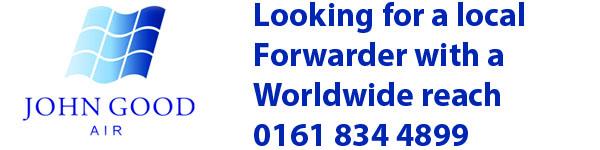 John Good Air. A local forwarder with a global reach