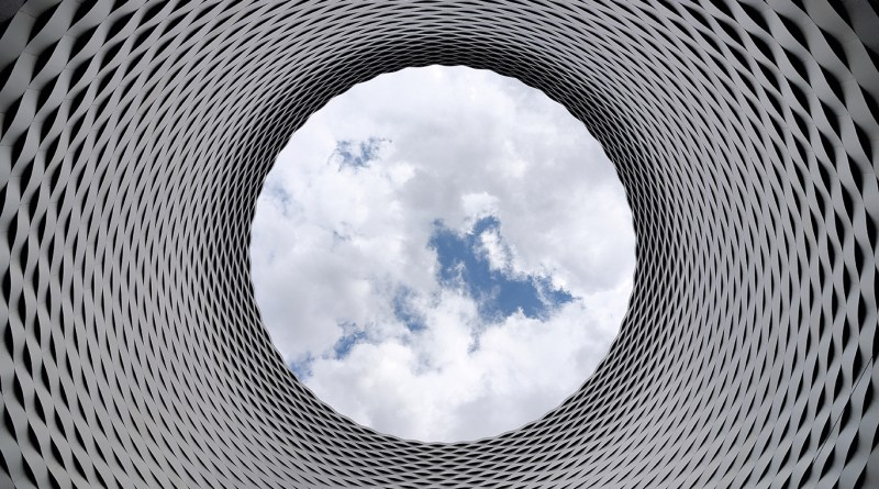 Sky Through Tube