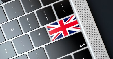 Union Jack on Keyboard