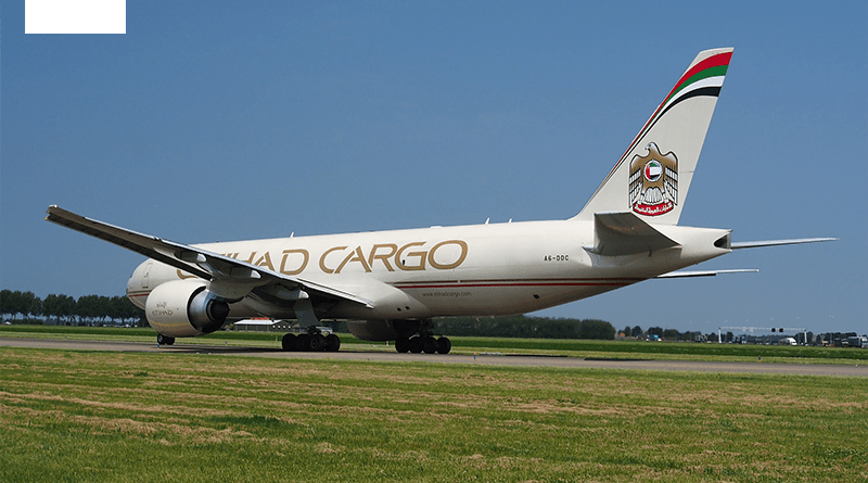 Etihad Airways B777 Freighter aircraft