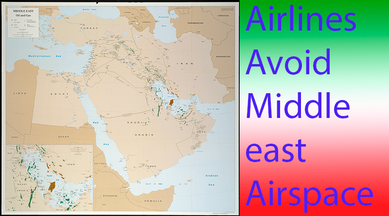 Iran and Middle East airspace