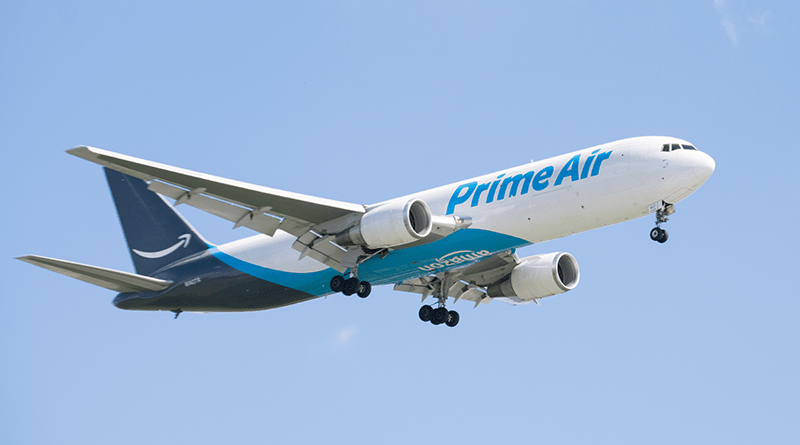 Amazon Air cargo freighter