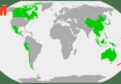 CPTPP Map