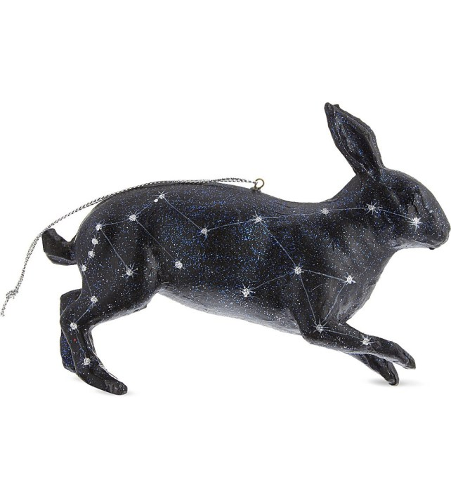 Rabbit decoration, £30.95