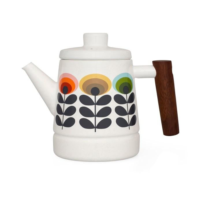 Unique & Unity Orla Kiely enamel teapot £50