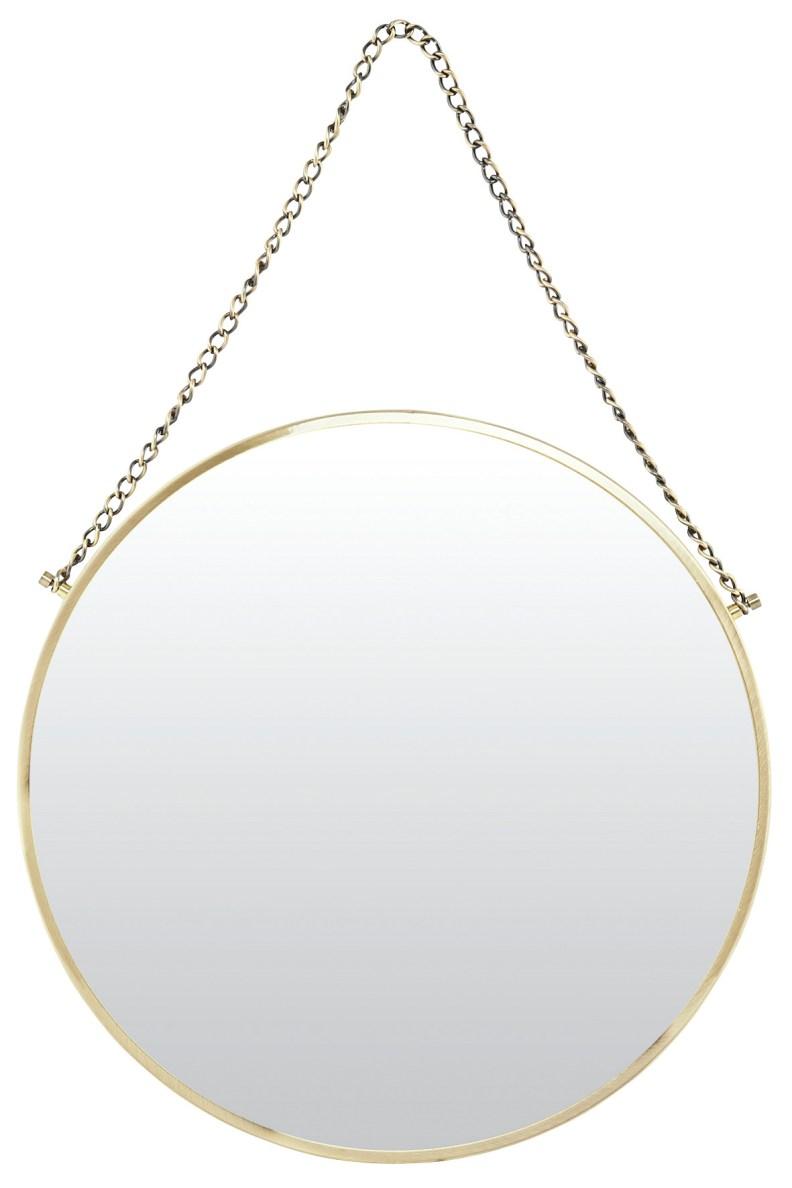 6. Round mirror, £55