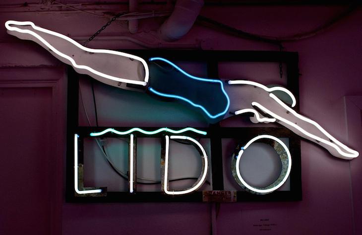 1. Lido neon light, God's Own Junkyard